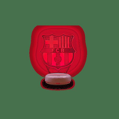 Votre lampe aux couleurs de votre club favori!