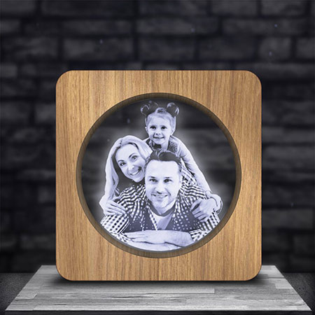cadre photo personnalisé bois lampephoto.fr