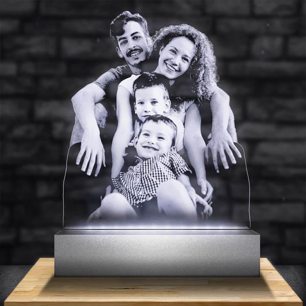Lampe Personnalisée Haut de Gamme Grand Format – Découpe des Contours.