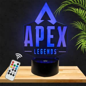 Lampe 3D Logo Apex Legends lampephoto.fr
