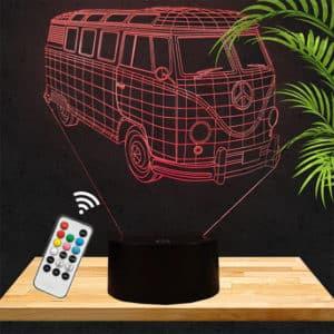 Lampe 3D Combi Volkswagen lampephoto.fr