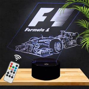 Lampe 3D F1 Redbull lampephoto.fr