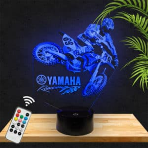 Lampe Motocross Yamaha lampephoto.Fr
