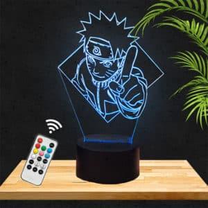 Lampe 3D Naruto lampephoto.fr