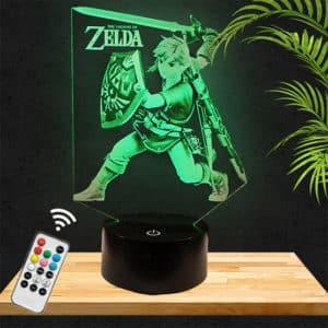 Lampe LED Zelda lamphoto.fr