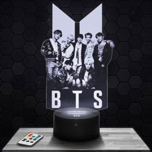 Lampe 3D BTS avec socle au choix !