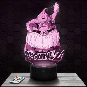 Lampe 3D Boo - Dragon ball Z avec socle au choix !