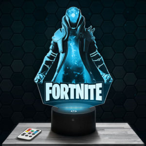 Lampe 3D Fortnite - Infini avec socle au choix !
