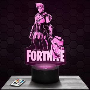 Lampe 3D Fortnite - Reese avec socle au choix !