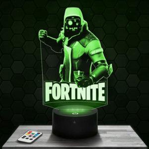 Lampe 3D Fortnite - Splinter cell avec socle au choix !