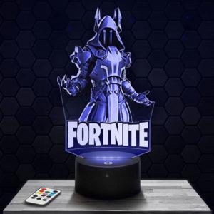 Lampe 3D Fortnite - The Ice King avec socle au choix !