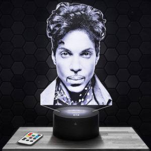 Lampe 3D Prince avec socle au choix !