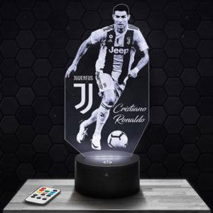 Lampe 3D Ronaldo avec socle au choix !